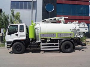 Combine Sewer Cleaning Truck