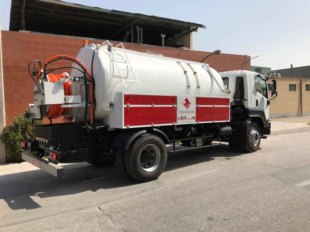 Large Sewer Cleaning Jetter
