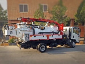 Recycling Combine Sewer Cleaning Truck
